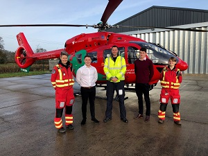 Wales Air Ambulance gets Cambrian support