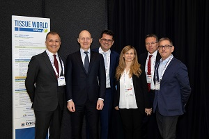 Essity highlights sustainability at Tissue World Milan