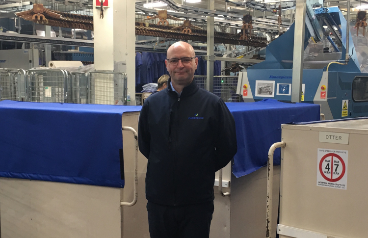 New formation for commercial laundry division at Christeyns
