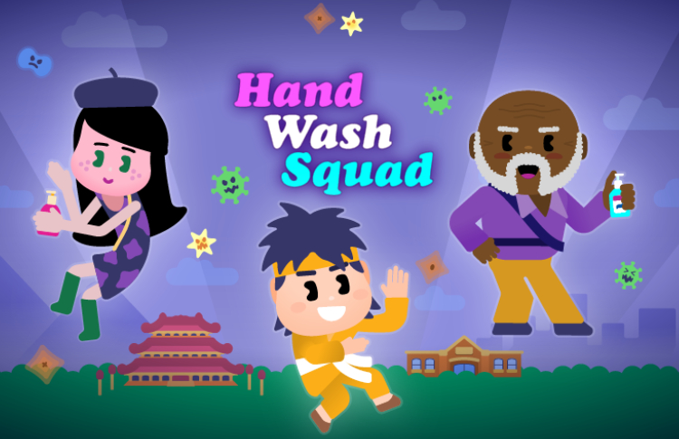 New interactive educational game promoting hand hygiene launches