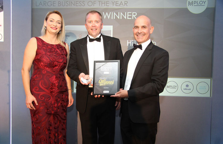 Hillbrush secures prestigious regional business award