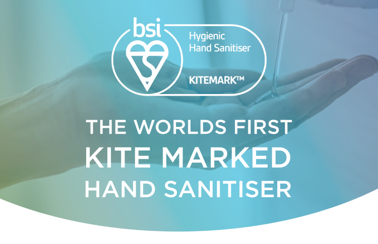 BSI kitemark for hand sanitiser is a global first for Christeyns Food Hygiene