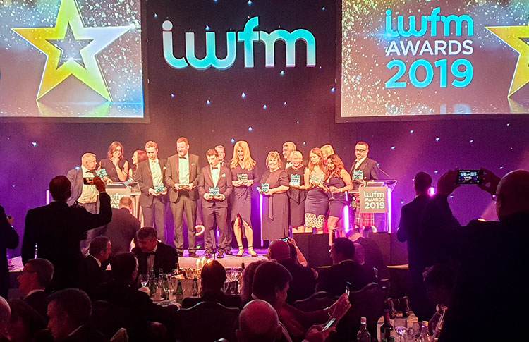 OCS IMPACT training prgramme wins at the IWFM Awards 2019