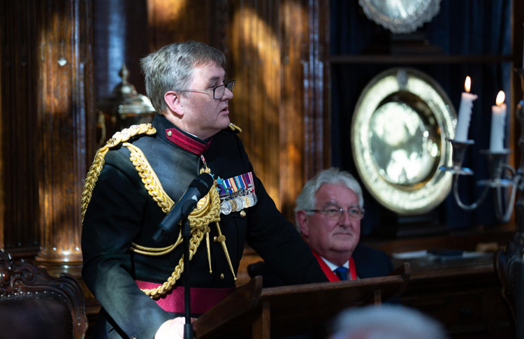 The Worshipful Company of Environmental Cleaners host their annual Military Awards for 2019