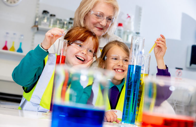 Airedale Chemical is inspiring solution for school pupils