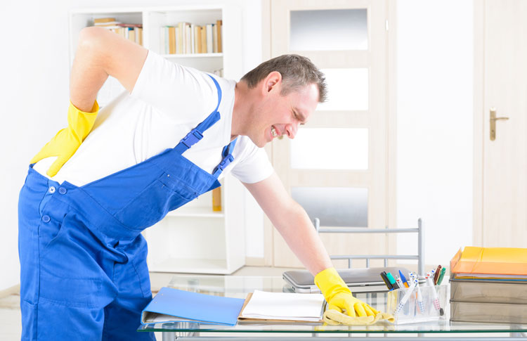BCC works to reduce injuries in the cleaning sector