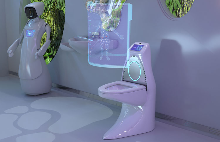 Bloo reveal the 'MOT' toilet of the future