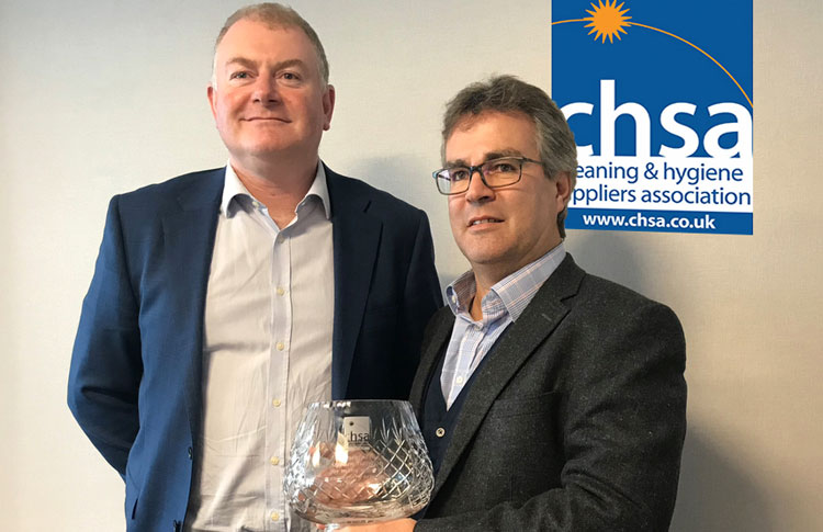 Stephen Harrison steps down as CHSA Chairman