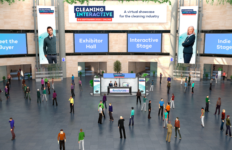 High-tech, virtual cleaning industry event Cleaning Interactive launches this September