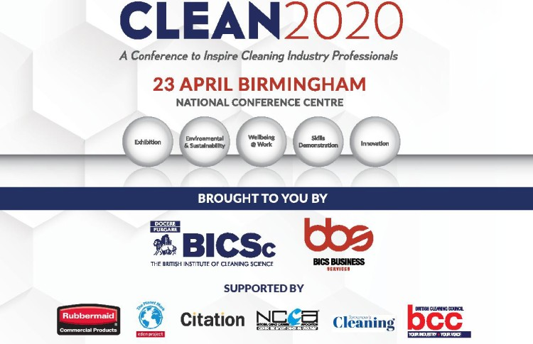 BICSc and BBS launch CLEAN 2020 conference for cleaning industry professionals