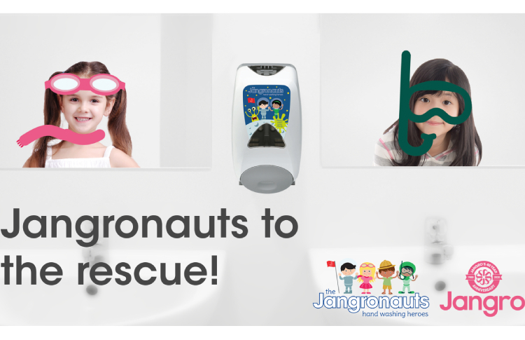 Jangronauts range for children can boost hygiene in schools