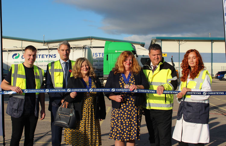 Christeyns Food Hygiene refurbishment opened by Warrington Mayor