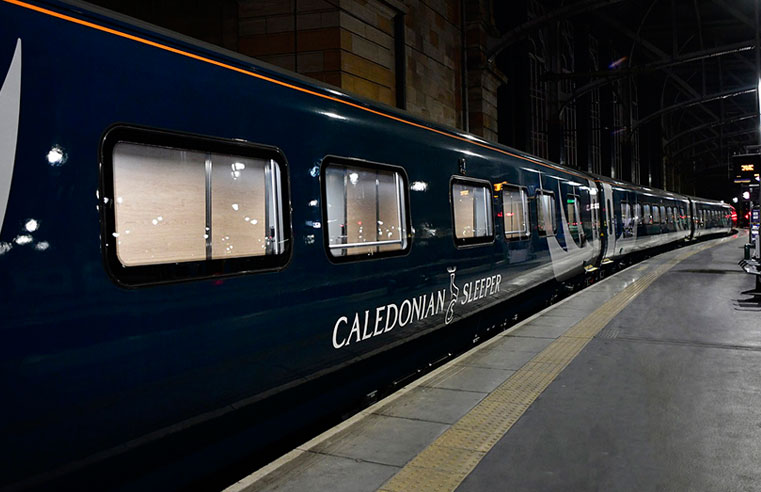 Water pipes on new Caledonian Sleeper train fleet damaged by incorrect chemical cleaning