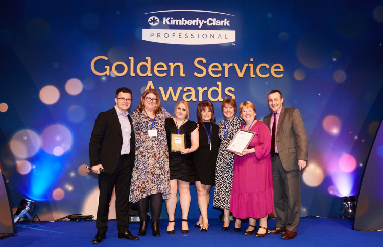 ISS Healthcare in Halifax wins Golden Service Award