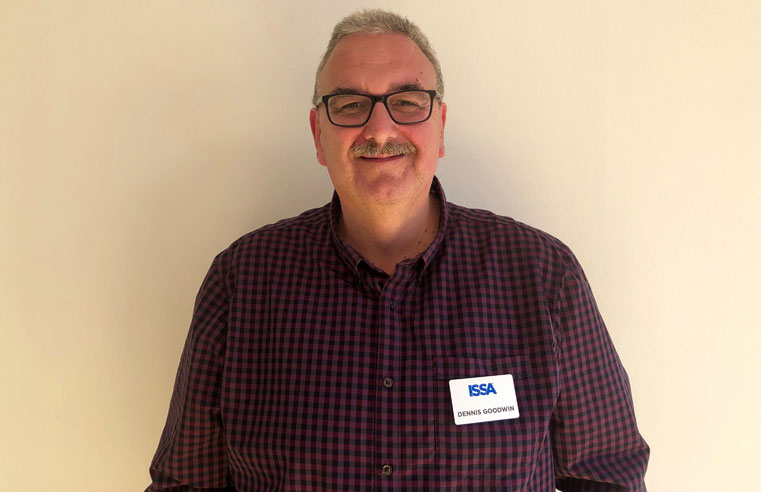 ISSA appoints Dennis Goodwin as new education and certification Business Development Manager for UK, Ireland and Middle East