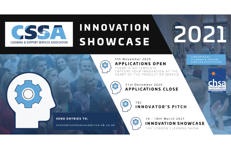 The Cleaning Support Services Association announce the 2021 Innovation Showcase