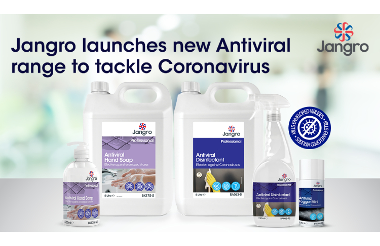 Jangro launches new antiviral range to tackle coronavirus