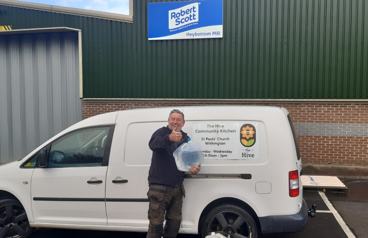 Robert Scott supports local charities with bio-cleaning solution donation