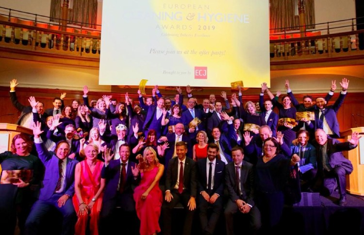 European Cleaning & Hygiene Awards 2020 open for entries