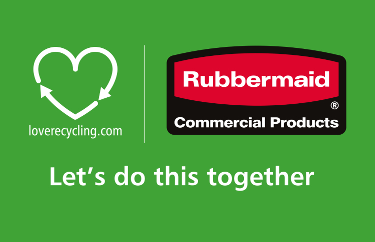 Rubbermaid Commercial Products begins second phase of 'Love Recycling' study