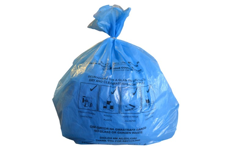 Berry bpi recycled products wins recycled refuse sack contract with Welsh council