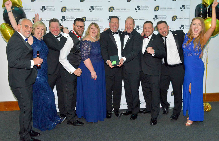 Northwood celebrate winning a brace of awards