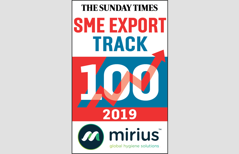 Mirius makes the SME Export Fast Track 100