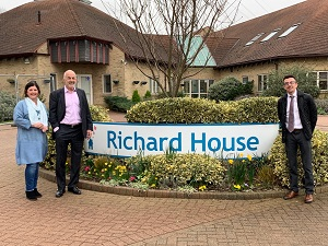 Children's hospice is Principle's choice